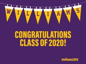 Williams Congratulations Class of 2020!