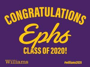 Congratulatioons Ephs Class of 2020!